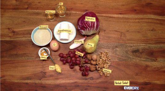 Herbstsalat Zutaten