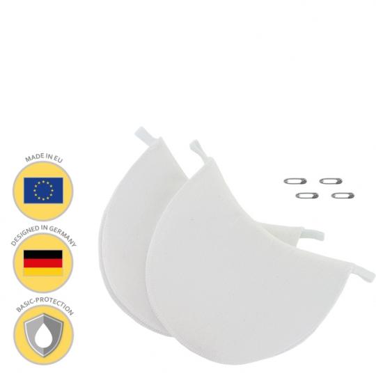 MANJANA® ACHSELPADS waschbar - Achselnässeschutz gegen Schweißflecken