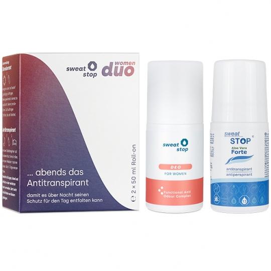 SweatStop® duo women – Antitranspirant & Deo gegen Schweiß & Geruch