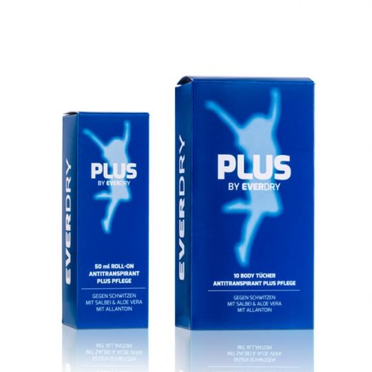 Vorteilspaket: Body Roll-On PLUS Pflege + Body PLUS Pflege Tücher