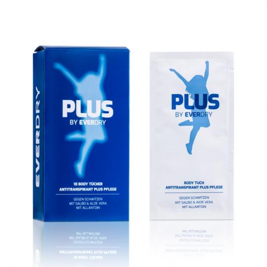 Antitranspirant Body PLUS Pflege Tücher