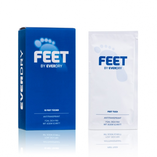 Antitranspirant Feet Tücher