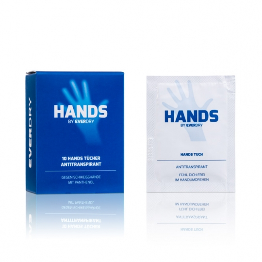 Antitranspirant Hands Tücher