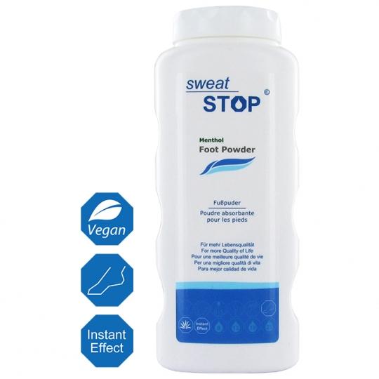 SweatStop® Fußpuder mit Zimt & Menthol für trockene Füße