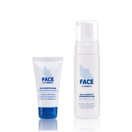 Vorteilspaket: Reinigungsschaum + Gesichtslotion