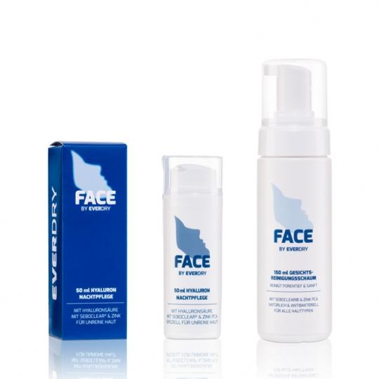 Vorteilspaket: Gesichtsreinigungsschaum + Hyaluron Nachtpflege