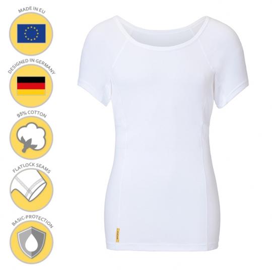 MANJANA® Man-U-classic-shirt mit Achselnässeschutz gegen Flecken